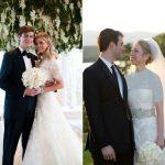مقایسه جالب عروسی دختر هیلاری کلینتون و دونالد ترامپ