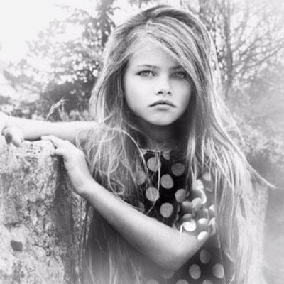 زیباترین دختربچه جهان در ۱۶ سالگی و در قالب یک مدل زیبا!