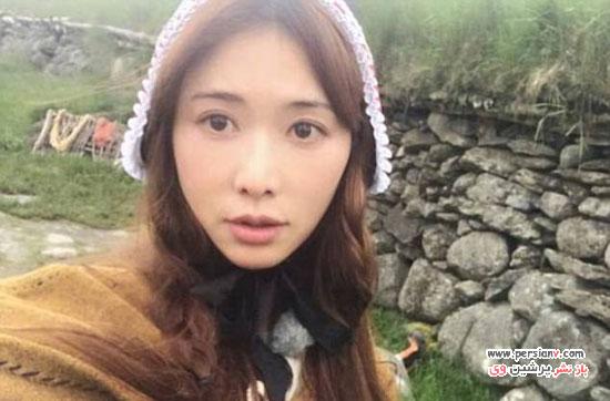 چهره جوان بازیگر زن تایوانی