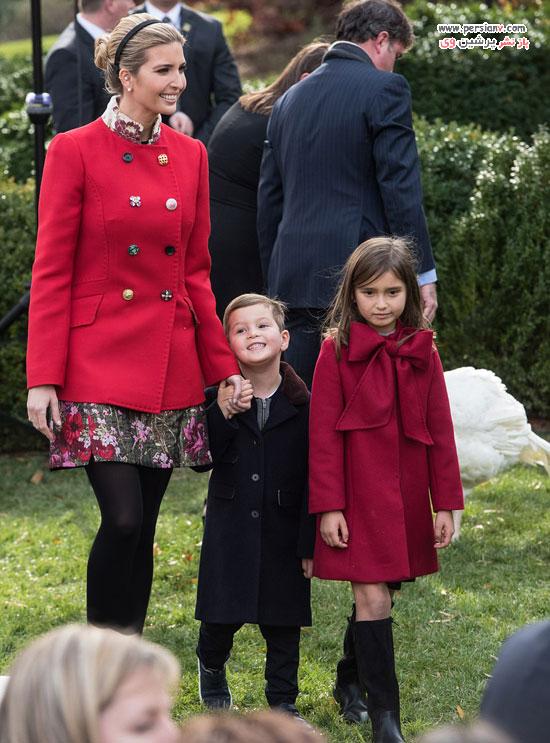 تیپ قرمز دختران ترامپ
