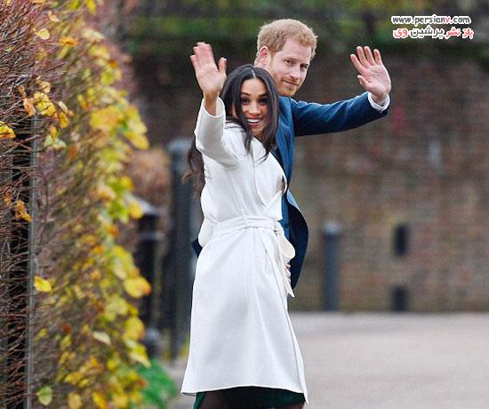 نامزدی پرنس هری و مگان مارکل