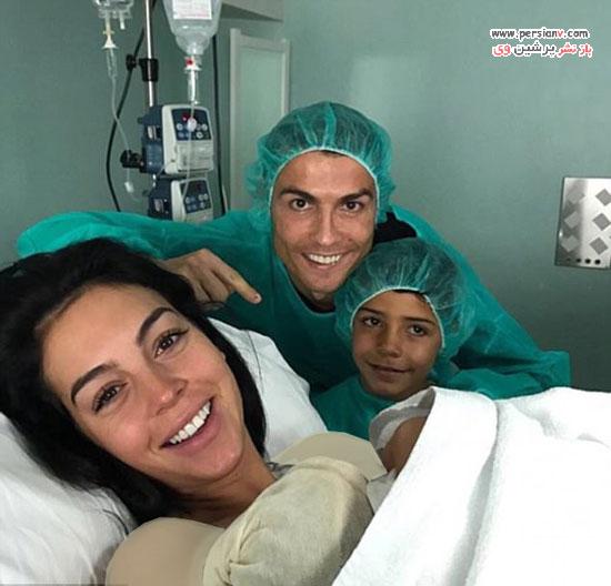 تولد فرزند چهارم کریستیانو رونالدو
