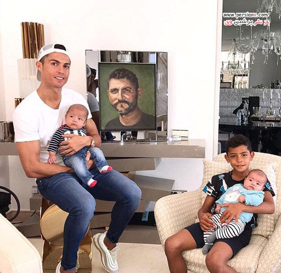 فرزند چهارم کریستیانو رونالدو به دنیا آمد!