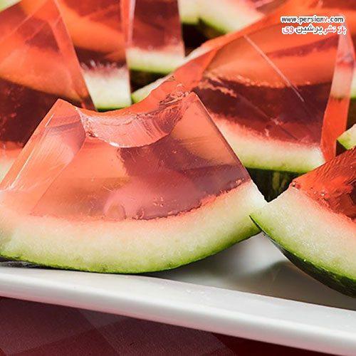 انواع دسر با هندوانه