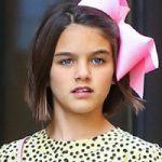 تولد ۱۲ سالگی سوری دختر زیبای ستاره های هالیوودی تام کروز و کیتی هولمز