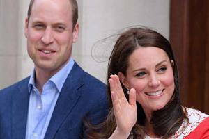 فرزند سوم کیت میدلتون و همسرش پرنس ویلیام به دنیا آمد