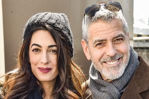 مصاحبه نادر با امل کلونی همسر بازیگر معروف جورج کلونی!