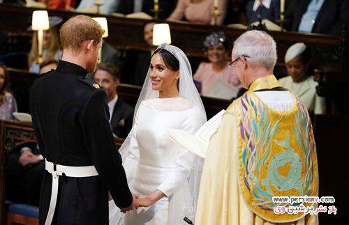 عروسی مگان مارکل و پرنس هری