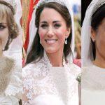 مقایسه عروسی مگان مارکل با کیت میدلتون و پرنسس دیانا