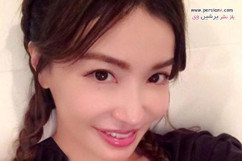 چهره بسیار جوان مدل ژاپنی