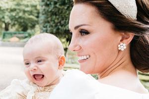 عکس های رسمی از مراسم غسل تعمید فرزند سوم کیت میدلتون