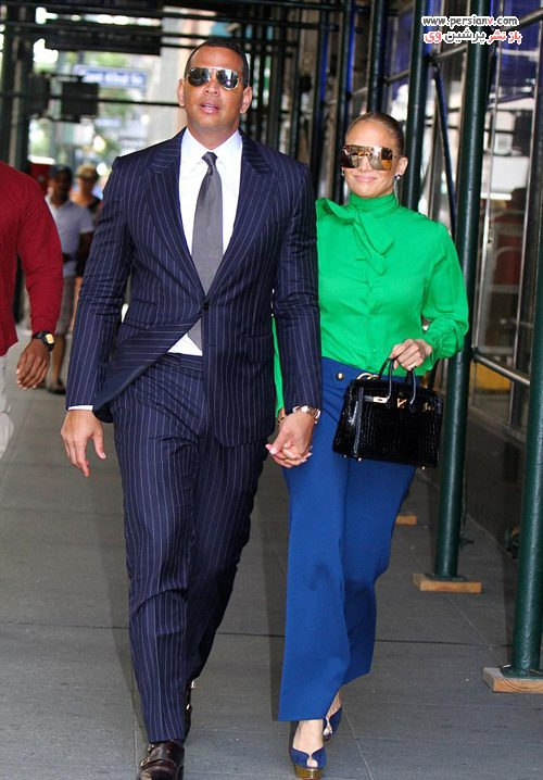 جنیفر لوپز و نامزدش