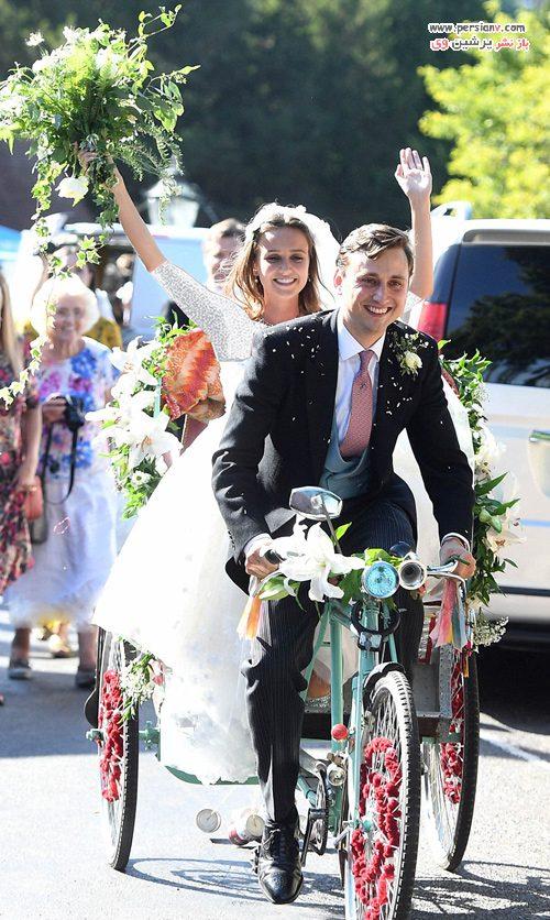مگان مارکل در یک عروسی