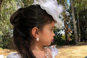 موهای پرپشت دختر کوچولو پنج ساله سوژه جدید کاربران شبکه اجتماعی