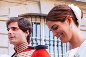 مراسم عروسی نوه ثروتمندترین زن اسپانیا در مادرید
