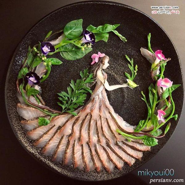 دیزاین بشقاب غذا