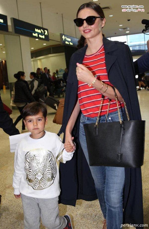 میراندا کر و همسرش