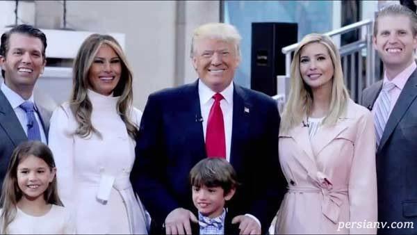 عکس های اینستاگرامی خانواده دونالد ترامپ در مهمانی ملکه الیزابت