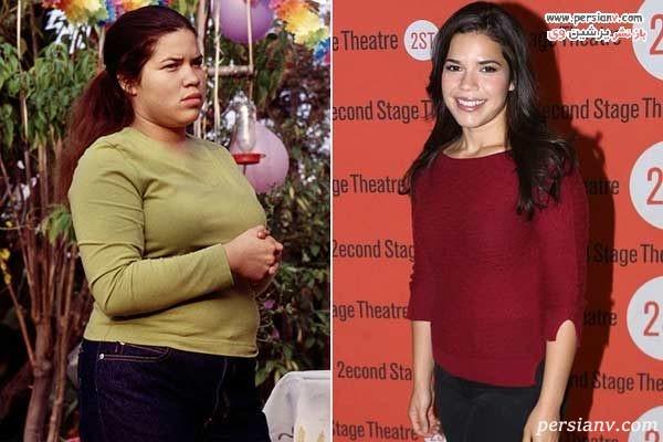 تغییر چهره بعد از لاغری