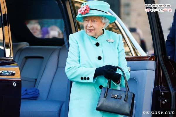 راز کیف ملکه انگلیس