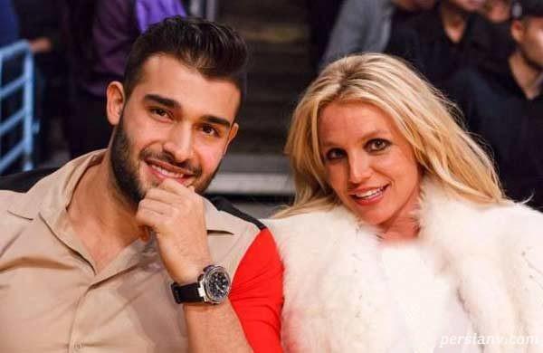 قرار ناهار دونفره بریتنی اسپیرز و سام اصغری نامزد ایرانی اش در کالیفرنیا