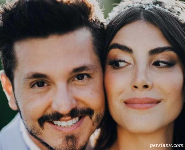 عروسی دنیز بایسال بازیگر مشهور و باریش یورتچو خواننده ترکیه ای