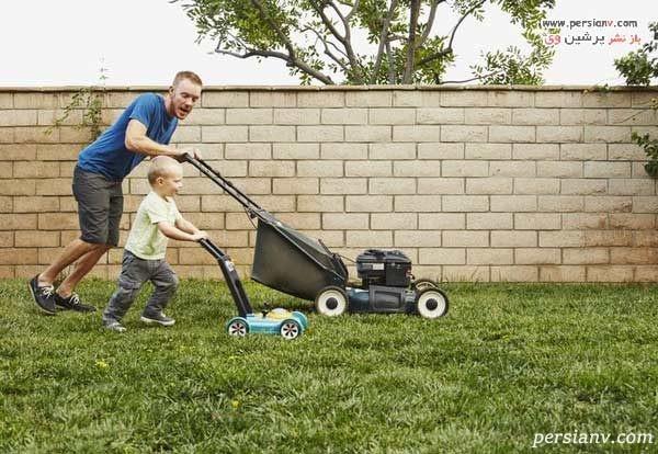 لاغری با کارهای خانه