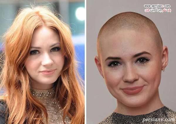 عکس قبل و بعد بازیگران