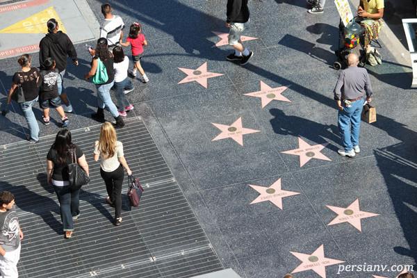 پیاده رو مشاهیر هالیوود و حقایقی که شاید از خواندن آنها متعجب شوید