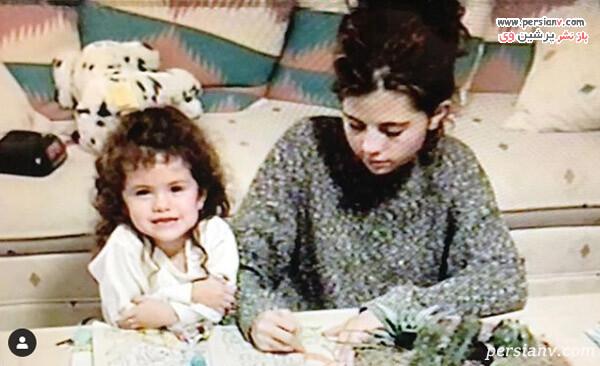 سلنا گومز و مادرش