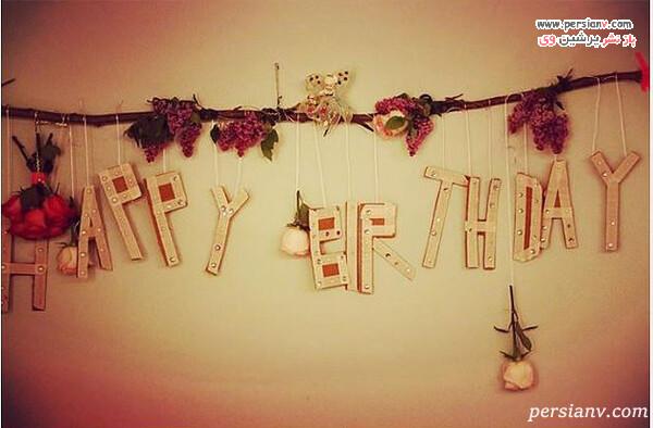 دکور جشن تولد سوری کروز