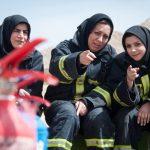 آموزش بانوان داوطلب آتشنشان + تصاویر