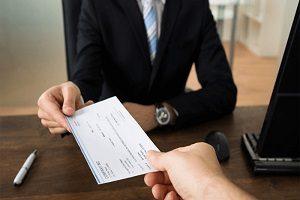 چک و وصول آن توسط وکیل
