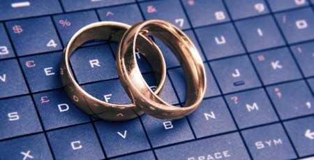مشکلات ازدواج اینترنتی