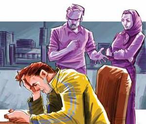 مخالفت پدر با ازدواج