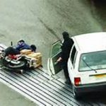 فرار از صحنه تصادف در چه شرایطی جرم است؟