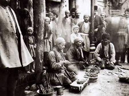 چلوکباب غذای معروف و قدیمی ایرانی و تاریخچه ی آن ها