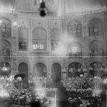 تهران قدیم و قدیمیترین تکیه در آن + تصاویر
