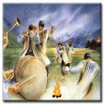 چهار شنبه سوری ، آیین باستانی ایران