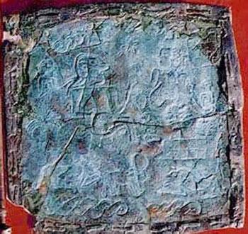 کشف قدیمی ترین پرچم جهان در ایران + تصاویر