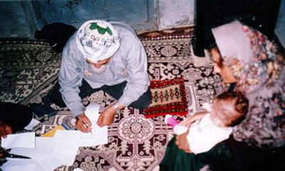 ترکمن ها و آیین پرخوانی در میان آنها چگونه است؟