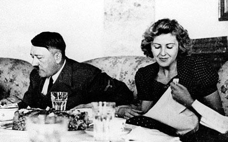 آدولف هیتلر و وقایع روزهای آخر زندگیش + تصاویر