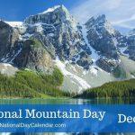 روز جهانی کوهستان در ۱۱ دسامبر
