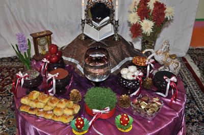 آداب و رسوم عید نوروز در استان کرمان