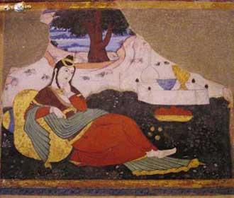 شعر عاشق شدن پادشاه بر کنیزک رنجور از مولوی