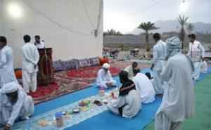 رسوم مردم خاش در ماه مبارک رمضان
