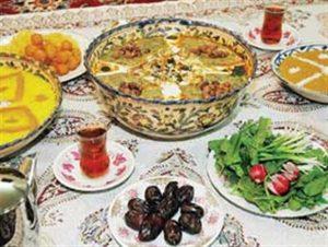 رسوم مردم همدان در ماه رمضان