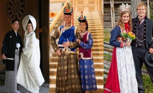 لباس عروس در کشورهای مختلف