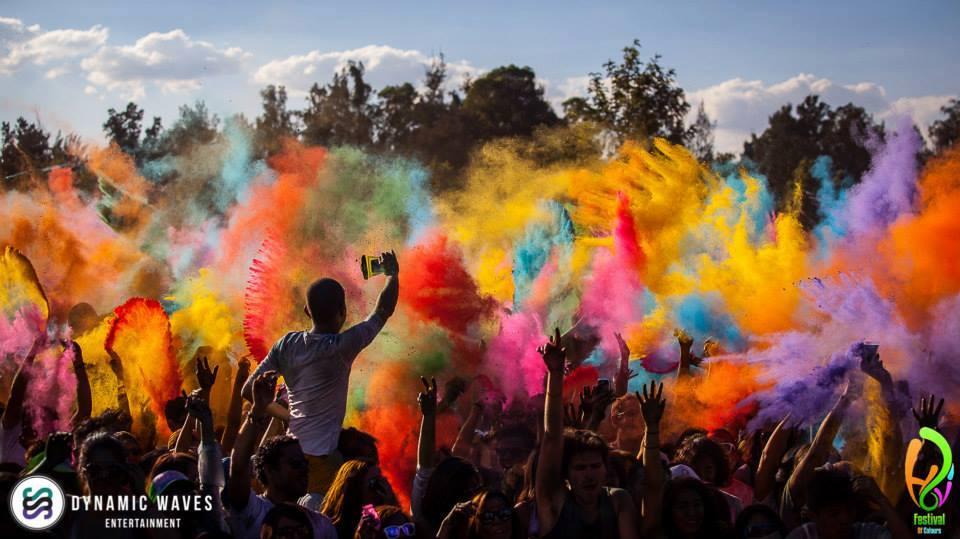 جشنواره رنگ ها در لبنان