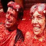 جشنواره لاتوماتینا یا جنگ گوجه فرنگی در اسپانیا